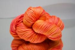 Orange/Pink DK yarn