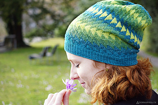 Dingle Hat - 306 - 383 yards (280 - 350 m) https://www.ravelry.com/patterns/library/dingle-2