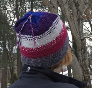 Tool Box Hat - 260 yards (238 m) https://www.ravelry.com/patterns/library/tool-box-hat