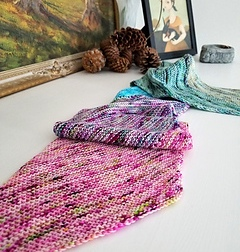 Mini Skein Sampler 400 - 800 yards (366 - 732 m) https://www.ravelry.com/patterns/library/mini-skein-sampler